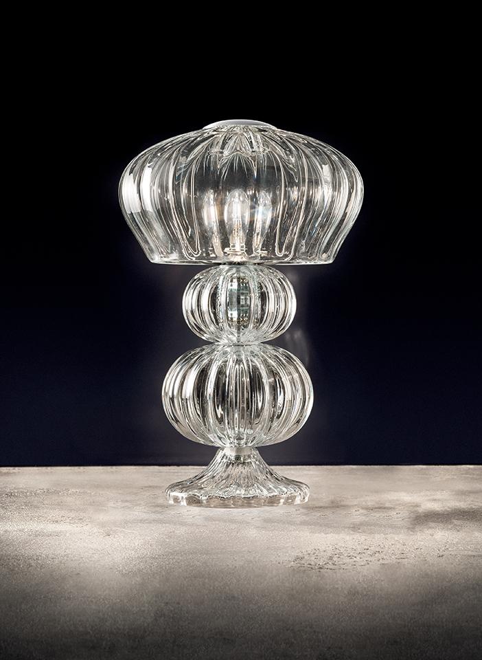 Hand made blown Murano glass base