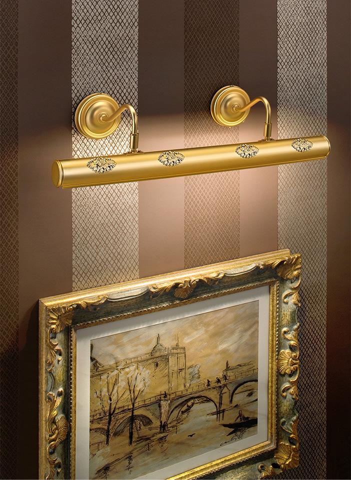 Matt metal gold plated